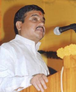 maharastra Deputy Chief Minister R R Patil