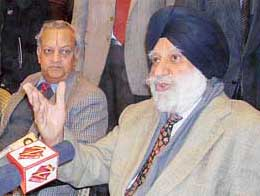 Justice Kuldeep Singh of Delimitation Commission.Pic.Courtesy:The Tribune
