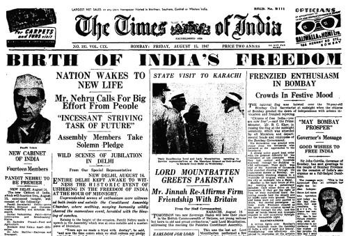 History of India's Independence