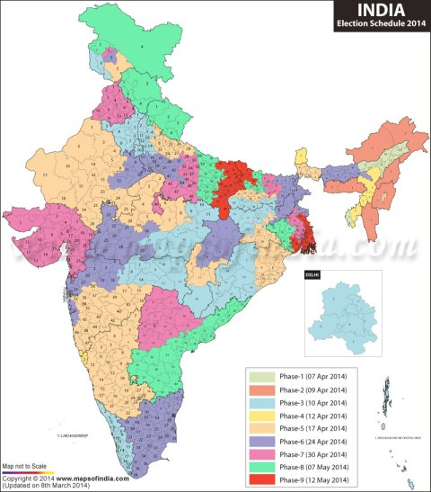Image Courtesy: www.mapsofindia.com
