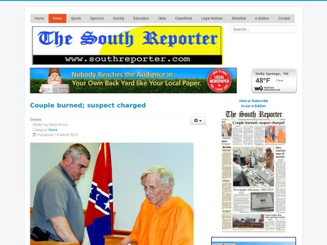 The South Reporter,Holly Springs,Mississippi