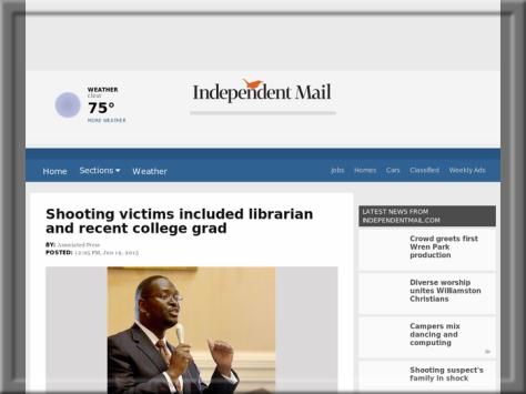 Independent Mail, South Carolina