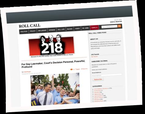 Roll Call, Washington D.C, USA