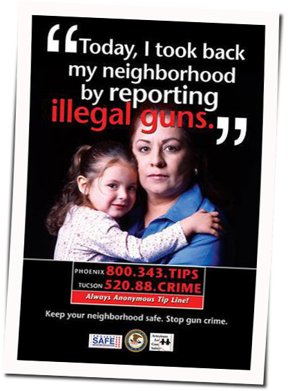 An Anti Crime Poster