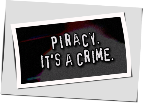 An Anti Piracy poster