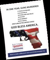 Anti Gun Violence poster