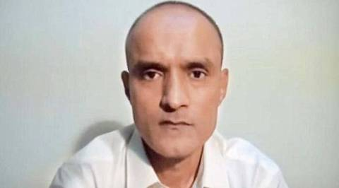 Kulbhushan Jadhav. Express photo video grab.