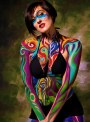 From Art to Aliens – Austrian Bodypainting Festival has Colorful Characters